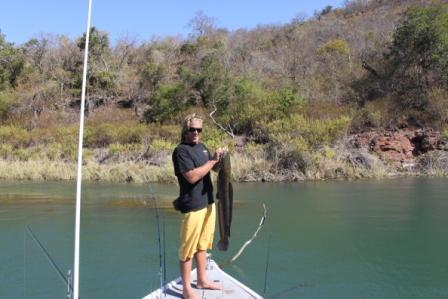 Jozini Dam fishing - Barbel