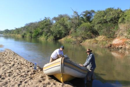 Tigerfishing pongola river